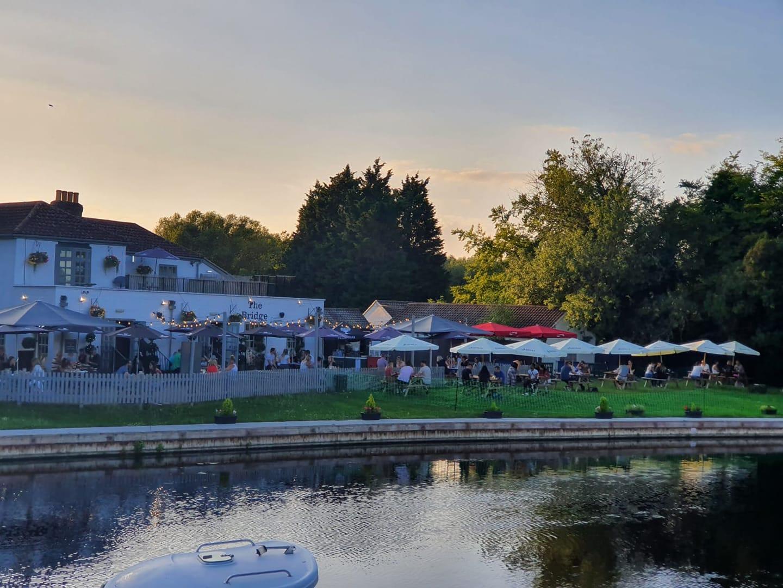 The Bridge beer garden pub vouchers